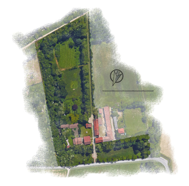 Ampi Giardini e Spazi Verdi a Il Bric